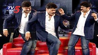 Chiranjeevi Dance with Singer Mallikarjun | Exclusive Interview on Chiru 60th Birthday | TV5 News