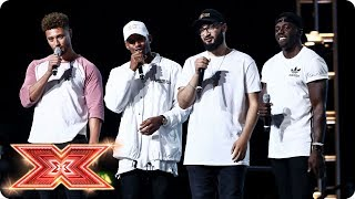 Rak-Su deliver a magical performance to impress the Judges | Boot Camp | The X Factor 2017