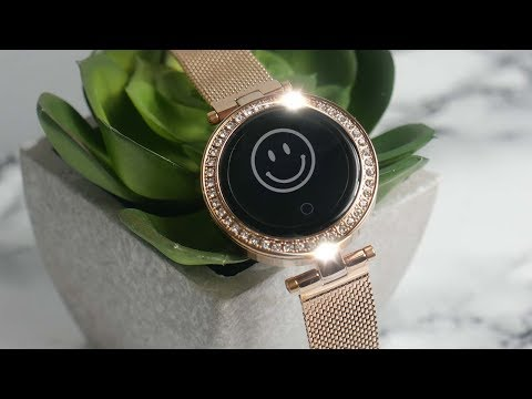 Best Women's SMART WATCH !? - SIHOHAN GOLD!