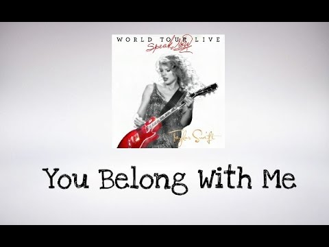Taylor Swift - You Belong With Me (Speak...