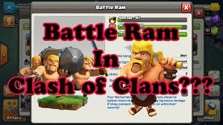 How to use the Battle Ram in Clash of Clans, TH10 farming