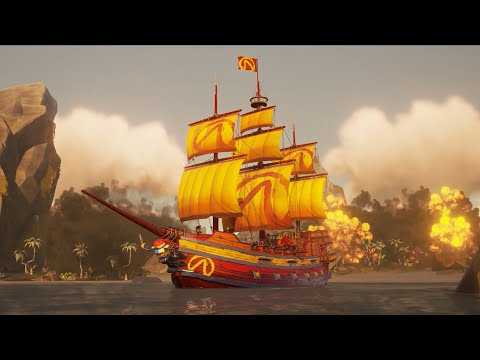 Mayhem Ship Set Reveal Trailer - Official Sea of Thieves