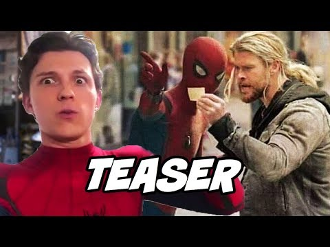 Spider Man Far From Home Teaser and Avengers 4 & Avengers Infinity War new Updates