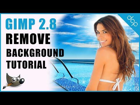 GIMP 2.8 Transparent Background   Remove Background   Image Editing