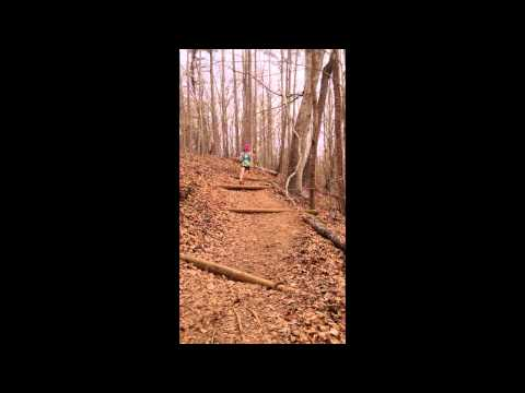 Running With Trekking Poles (short)
