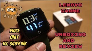 SMART WATCH FOR RS 3499 INR | OLED DISPLAY | HEART RATE SENSOR | METAL BUILD / Видео