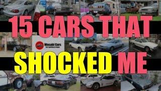 While Carspotting: 15 Cars That Shocked/Surprised/Saddened