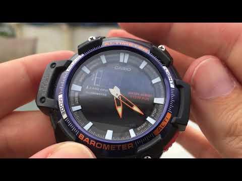 0faa1bc4194 Short video of Casio Altimeter Barometer SGW-450H-2BCF