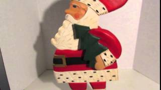 Midwest Cannon Falls Folk Art Santa