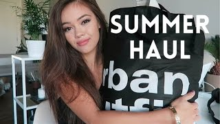Huge Summer Try-On Haul | viviannnv