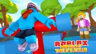 O CLUBE PEQUENO É DIZIMADO!!! Jogos Sharky   Roblox