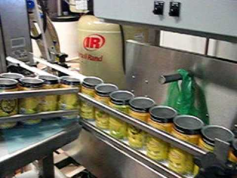 the canning process...