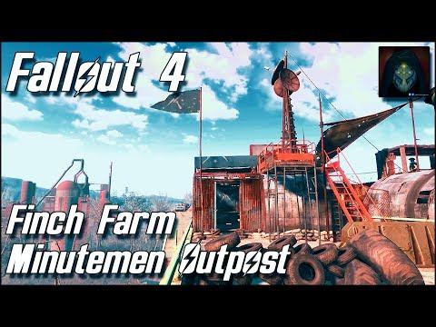Fallout 4 | Finch Farm Settlement -  Minutemen Outpost