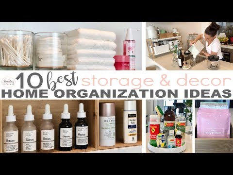 home-organization-tips-and-hacks---clever-small-space-storage-solutions-||-the-sunday-stylist