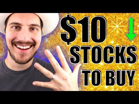 5 Stocks To Buy Now Under $10