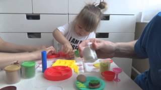 Обзор игрушки: набор для лепки American Hamburger Set