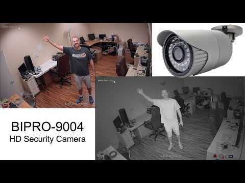 BIPRO-9004 HD CCTV Security Camera Infrared Video Surveillance Demo
