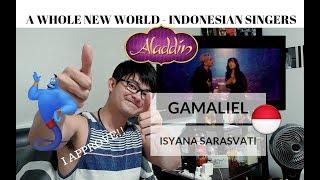 MENYETUJUI Indonesia s Gamaliél Isyana Sarasvati A Whole New World Disney Aladdin
