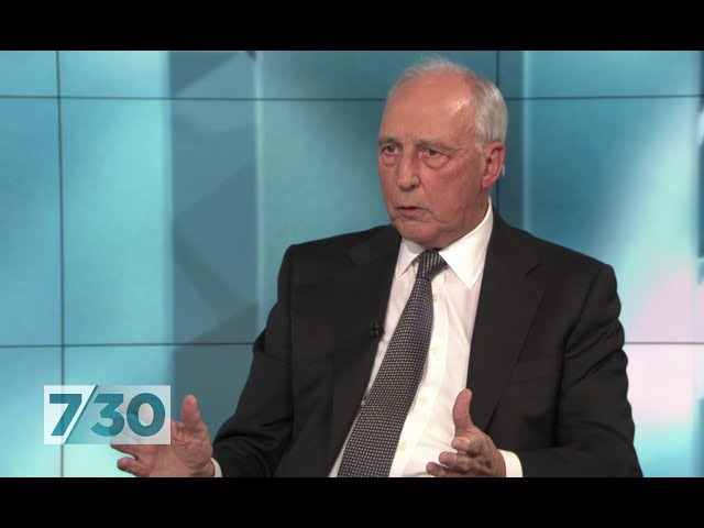 Paul Keating says Liberal MPs trying to stop superannuation increase are 'super deniers' | 7.30