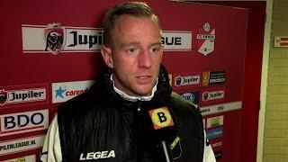 NAC-spits Sjoerd Ars na de nederlaag tegen FC Emmen: 'Een dramatische wedstrijd'