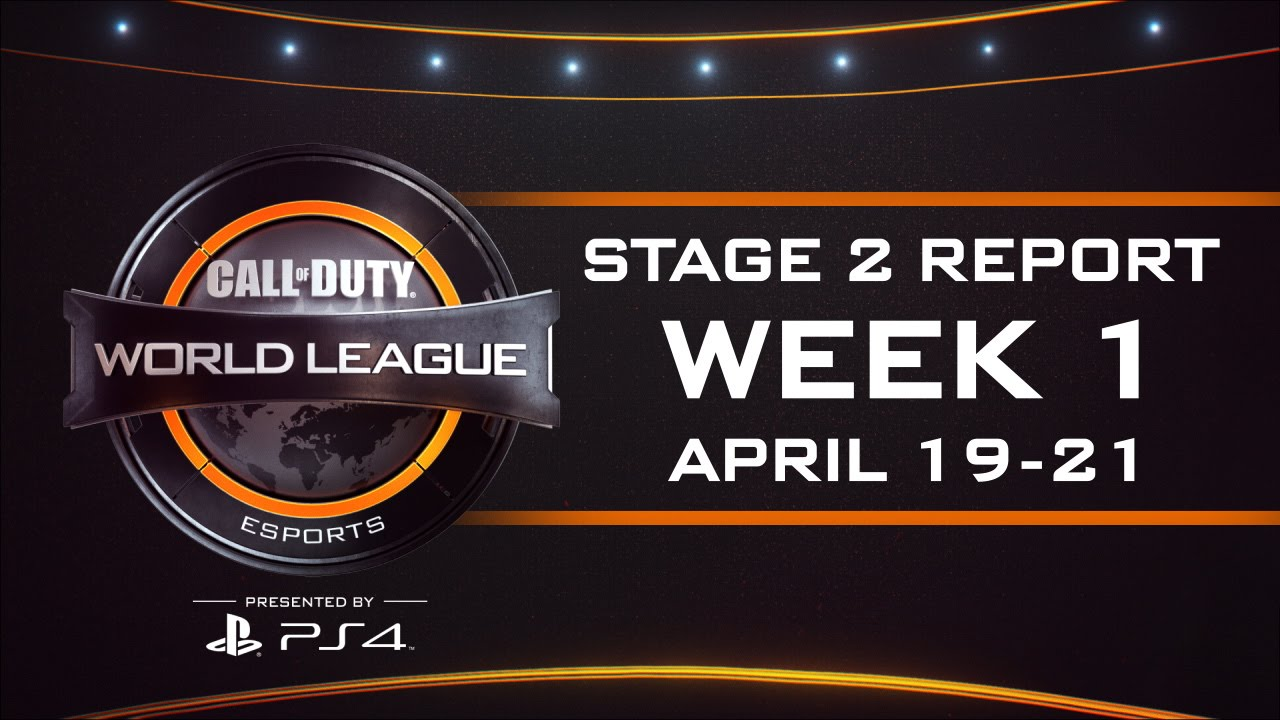 Week 1 Stage 2: CWL esports Report – Call of Duty® World League [4/19 – 4/21]