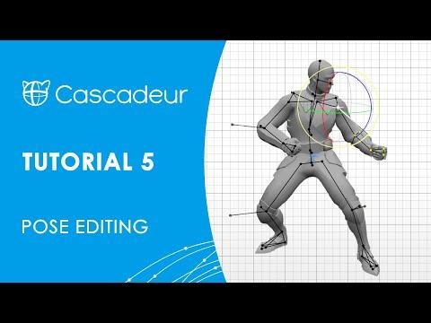 Cascadeur Tutorial 5: Pose Editing thumbnail