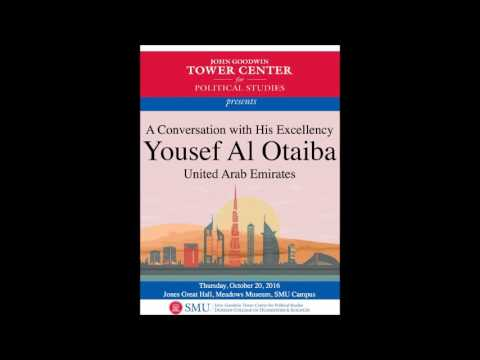 Tower Center Special Event | A Conversation with His Excellency Yousef Al Otaiba, UAE