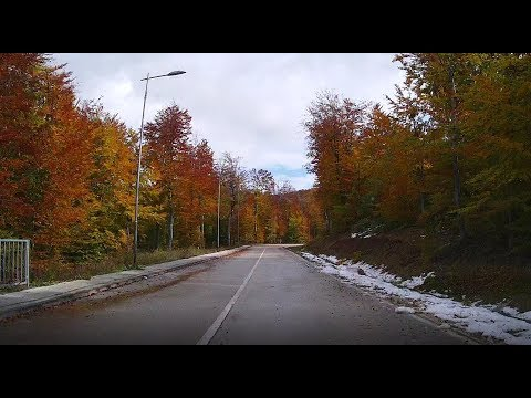Road from Stara Planina to Požarevac (Time Lapse)