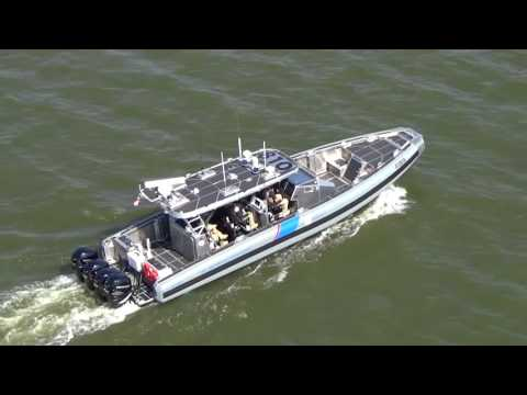 Customs Border Patrol Air and Marine Coastal Interceptor Vessel