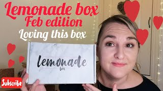 My Lemonade box for feb
