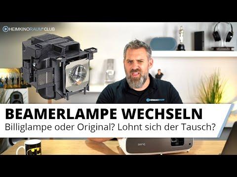 Beamer Lampe wechseln - Originallampe oder Nachbau? Oder lieber gleich einen neuen Projektor ;)