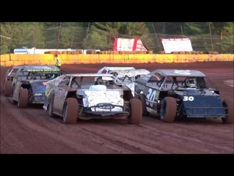 6-3-17 Stock car race @ Tomahawk Speedway/ Kris Kummer is remembered