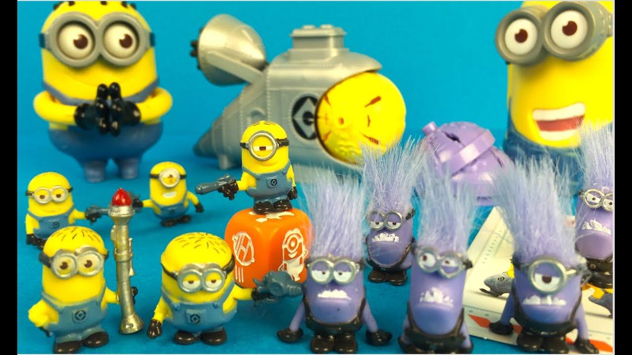 Minions Despicable Me 2 Battle Pods Good Vs Evil Minion Figurine Playsets Minions Aka Minyonlar