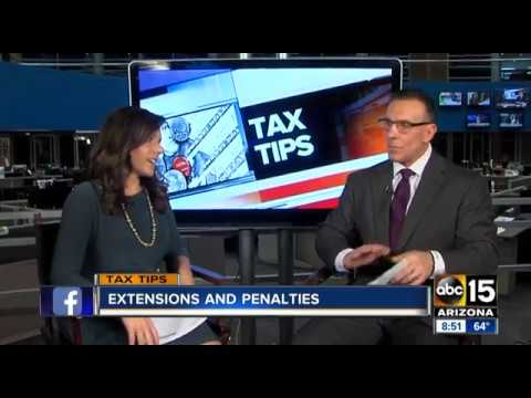 2017 04 08 KNXV  0848 Bob Hockensmith Tax Crunch Time Extensions & Penalties 02m28s