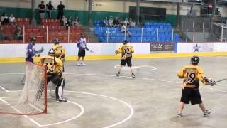 Montreal Nationals vs Aigles de Windsor Junior Lacrosse May 25 2014