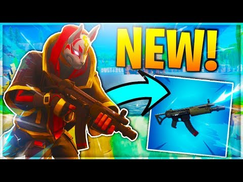 RARE *NEW* MP5 SMG GAMEPLAY! - New SUBMACHINE GUN Gameplay In Fortnite! (Fortnite V5.0 Update)