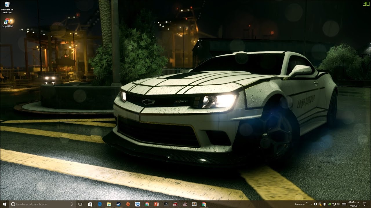 Wallpaper Engine Chevrolet Camaro Z28 Youtube