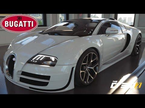 The Crew 2 - NEW Bugatti Veyron Vitesse - Customization, Top Speed, Review