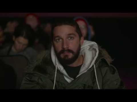 Shia LaBeouf Watching All His Movies 10 Hours of Footage