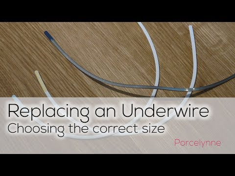 Replacing An Underwire: How To Choose The Correct Size When Replacing A Broken Underwire