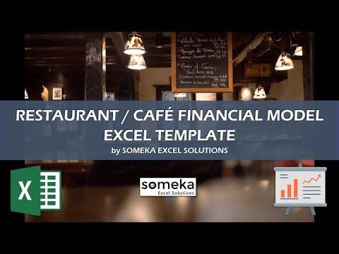 Restaurant Financial Plan Template | Run a Successful Restaurant in Excel!