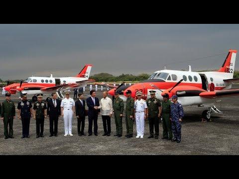 "Philippine Navy receive 2 Japanese aircraft "" Beechcraft TC 90 King Air"""
