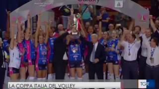 Coppa Italia Igor Volley Novara - TGR Piemonte [19 febbraio 2018]