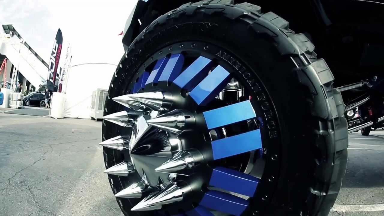 American Force Wheels Sema 2013 Teaser Youtube