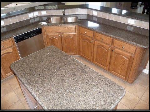 Tropical Brown Granite Countertops Dallas Tx By DFW Granite   YouTube
