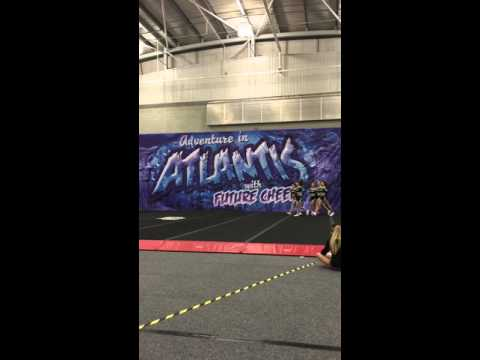 East Elite Allstars Senior Group Stunt Level 2 - FC Adventure in Atlantis 2016