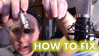 fixing troubleshooting problems neewer nw 700 professional condenser microphone kit