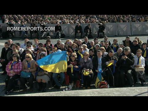 Ukrainian Parish travels to Rome to pray for peace