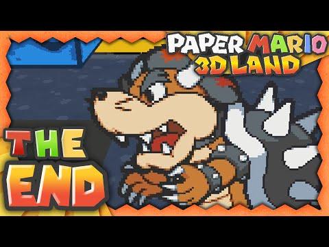 Paper Mario 3D Land - Part 8 - Super Saiyan Mole Suit Bowser! w/Facecam!