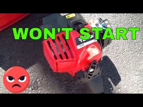 How To Start A Weed Wacker If It Won't Start - Cleaning The Carburetor